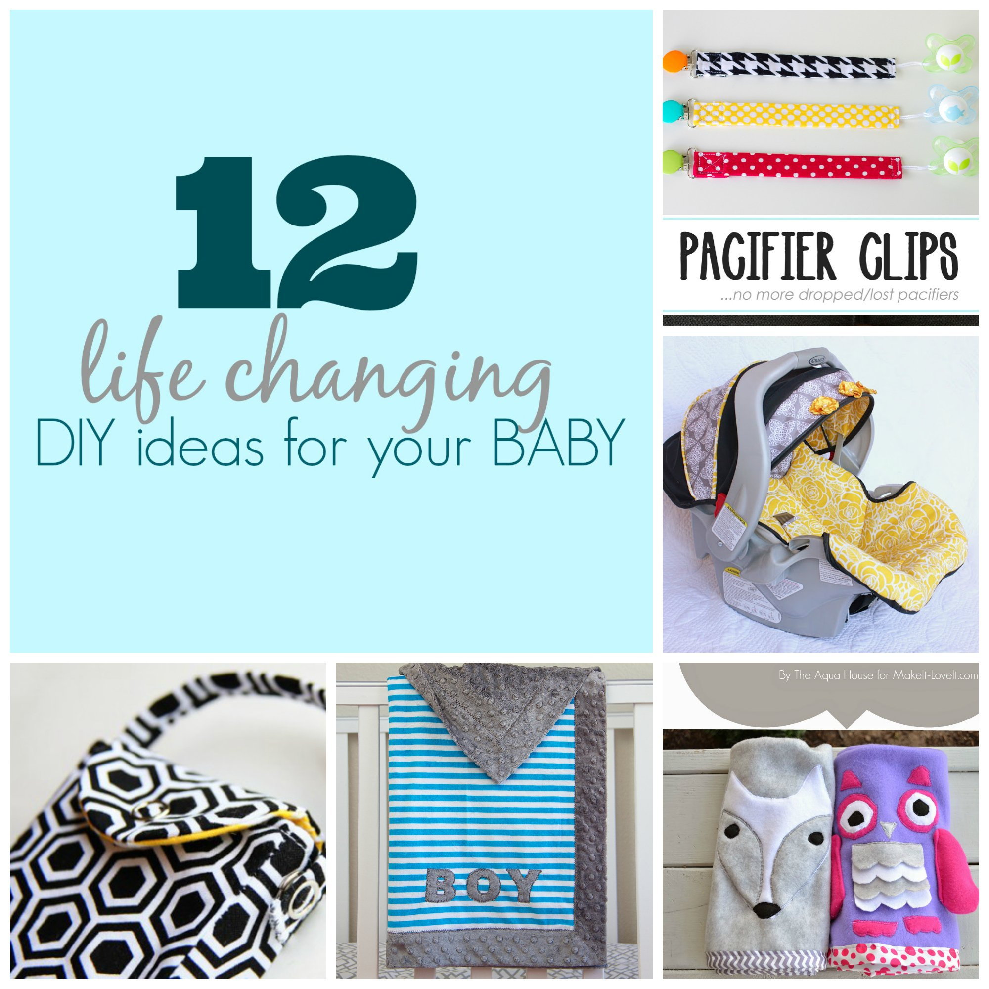 12 life changing diy ideas for your baby