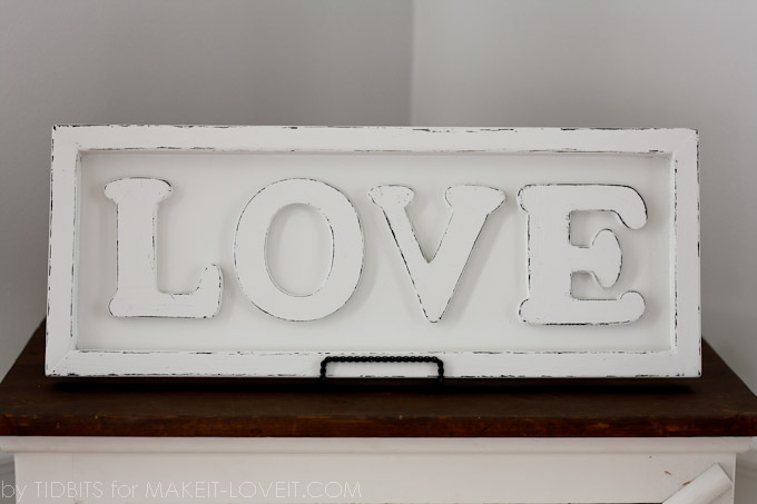 Pottery Barn Inspired Love Art Make It And Love It