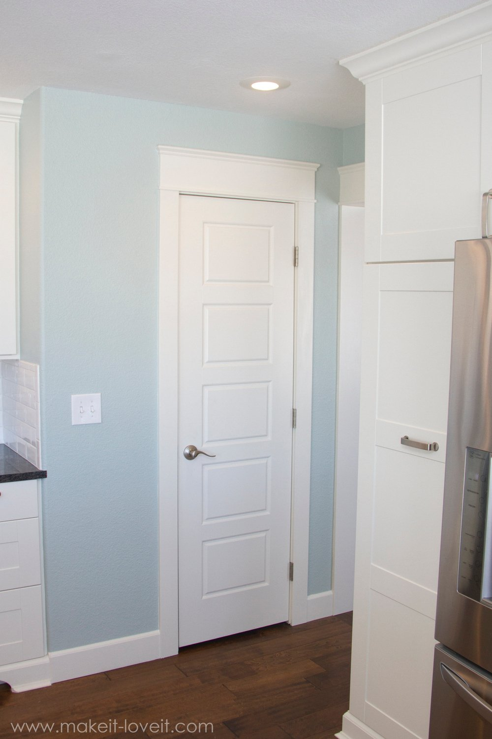 How to install a prehung interior door this old house - Installing prehung interior doors ...