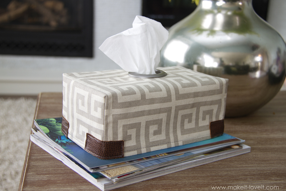 1 tissue box cover