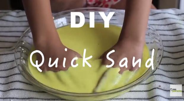 Diy quicksand