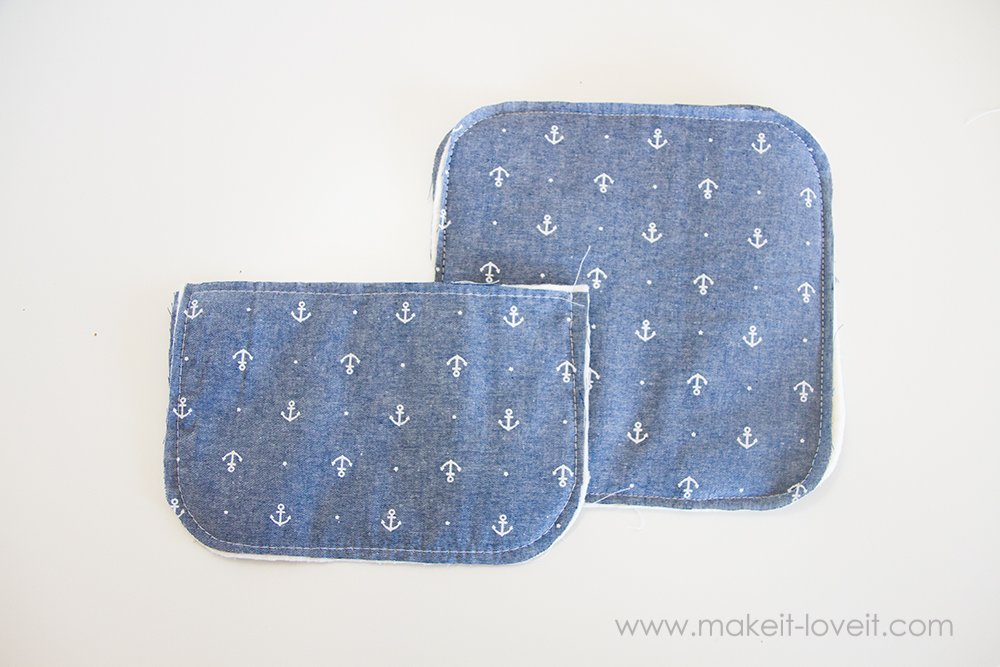 Square hot pad with hand pocket tutorial (6)