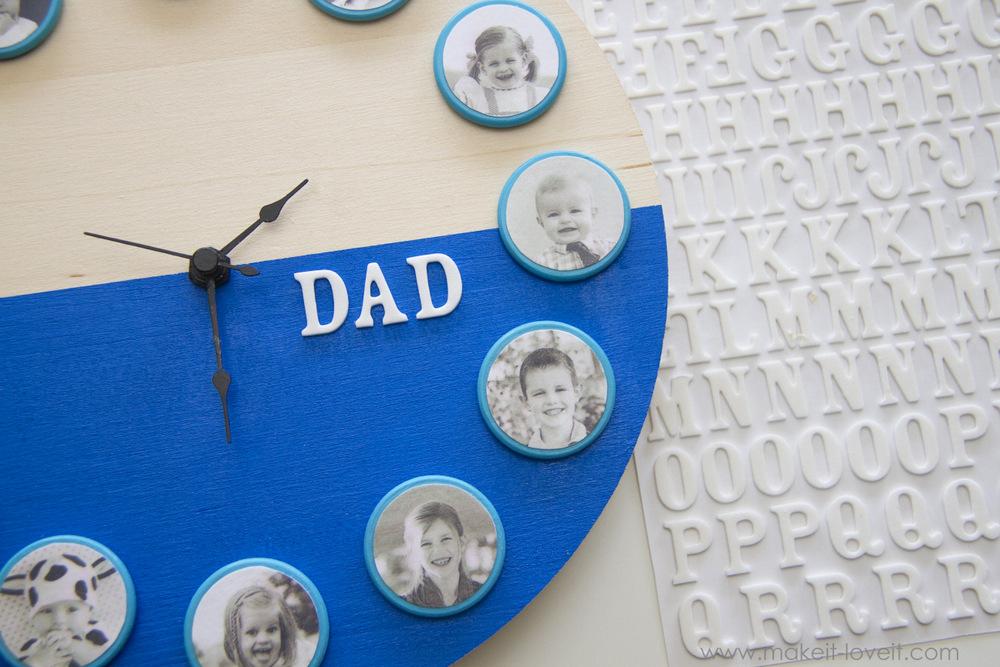 diy-fathers-day-portrait clock-12