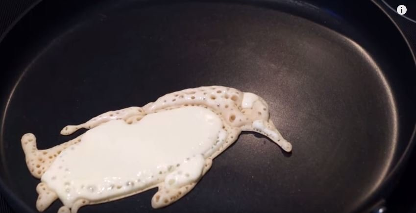 How to make penguin pancakes
