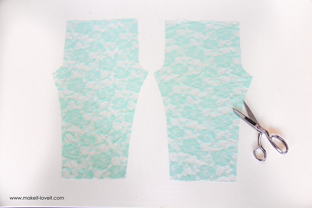 How To Make Stretchy Lace Leggings  (4)