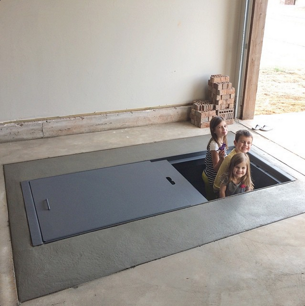 Our Tornado Storm Shelter – Garage Floor Storm Shelter Plans