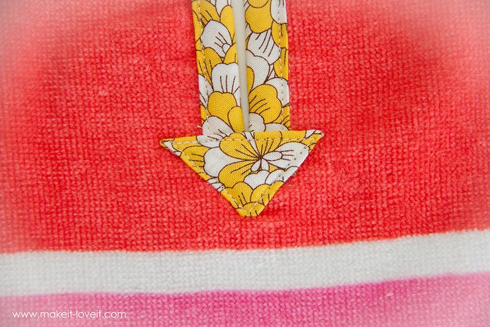 Swimming towel poncho (26)