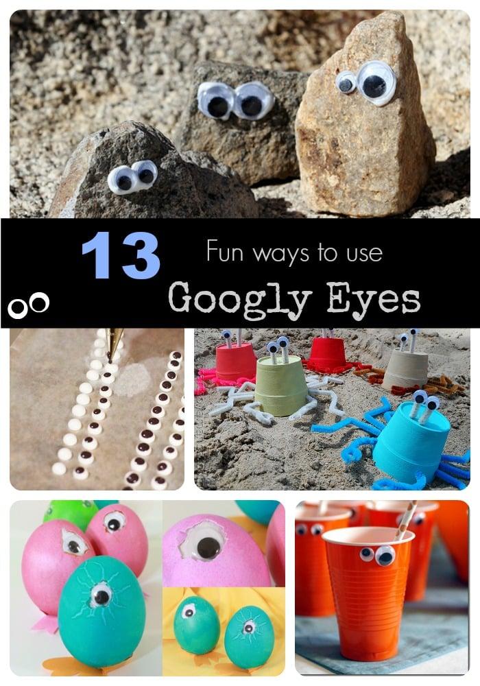 13 fun ways to use googly eyes
