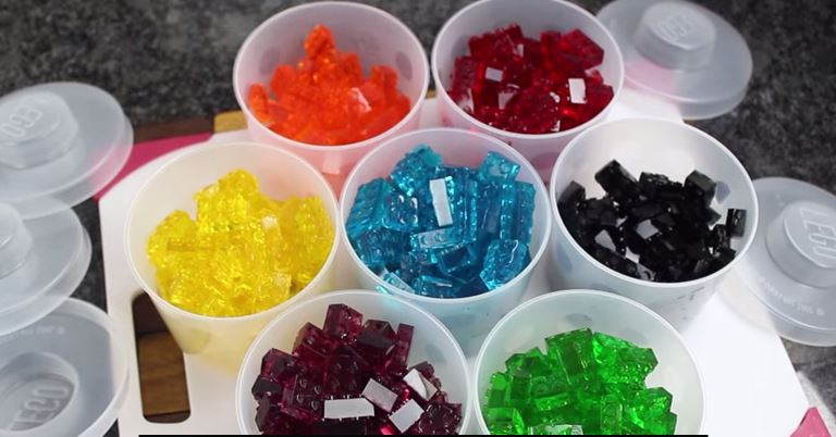 How to make your own lego gummy candy
