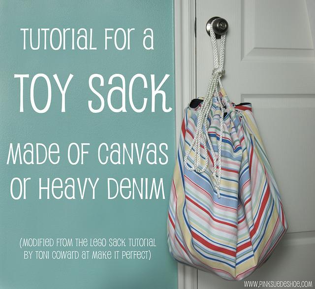 DIY Toy Storage Bag