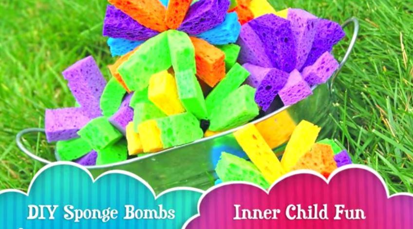 Make your own sponge bomb