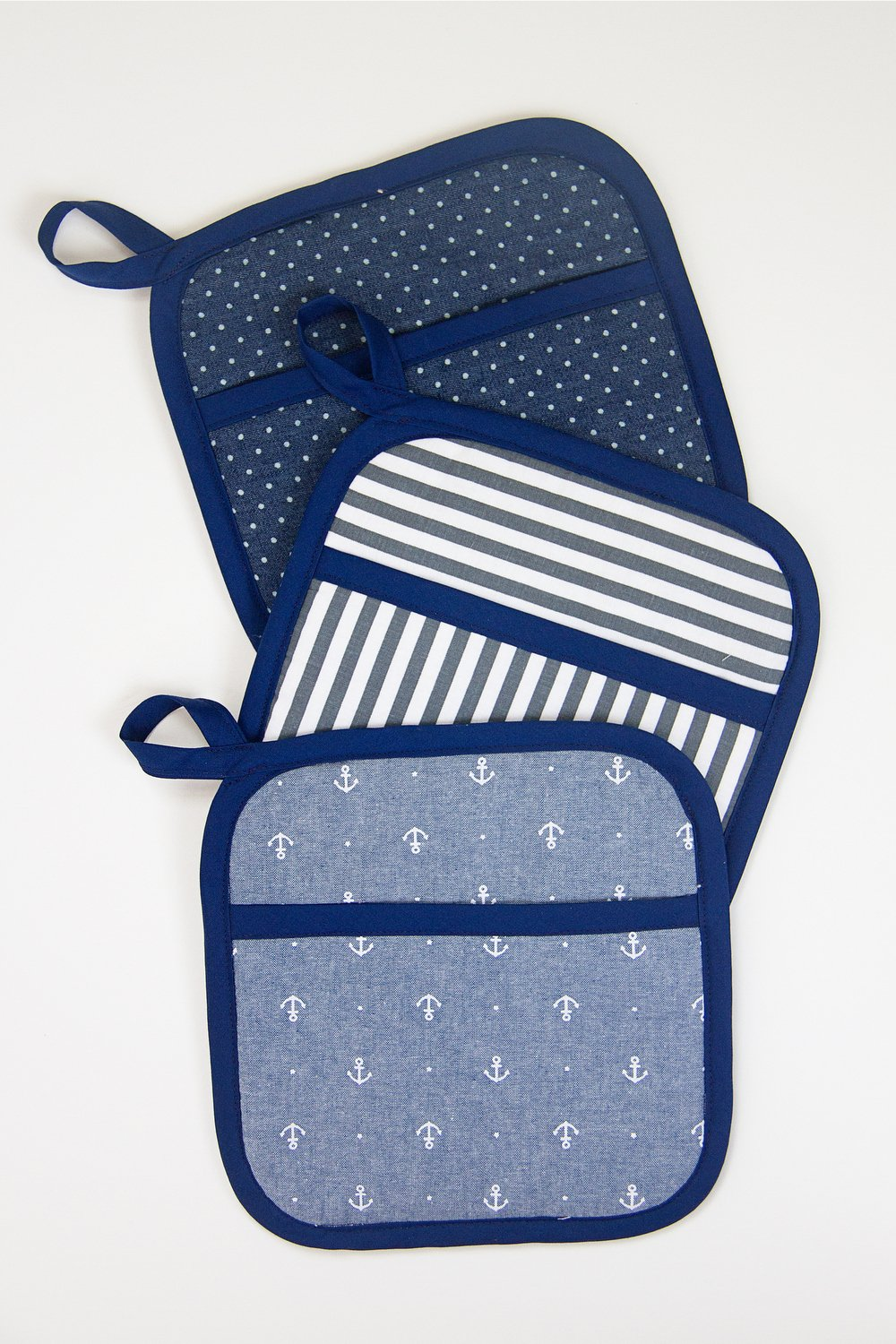 Square hot pads…with hand pockets