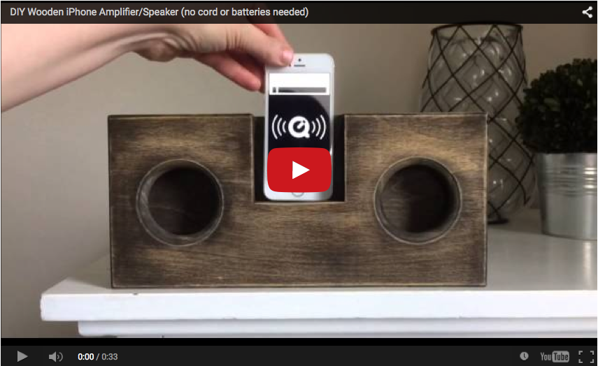 Passive Amplifiers Diy How To Make A Wooden Speaker For