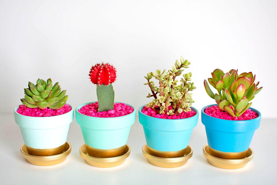 Image result for Gold Lettering DIY planter