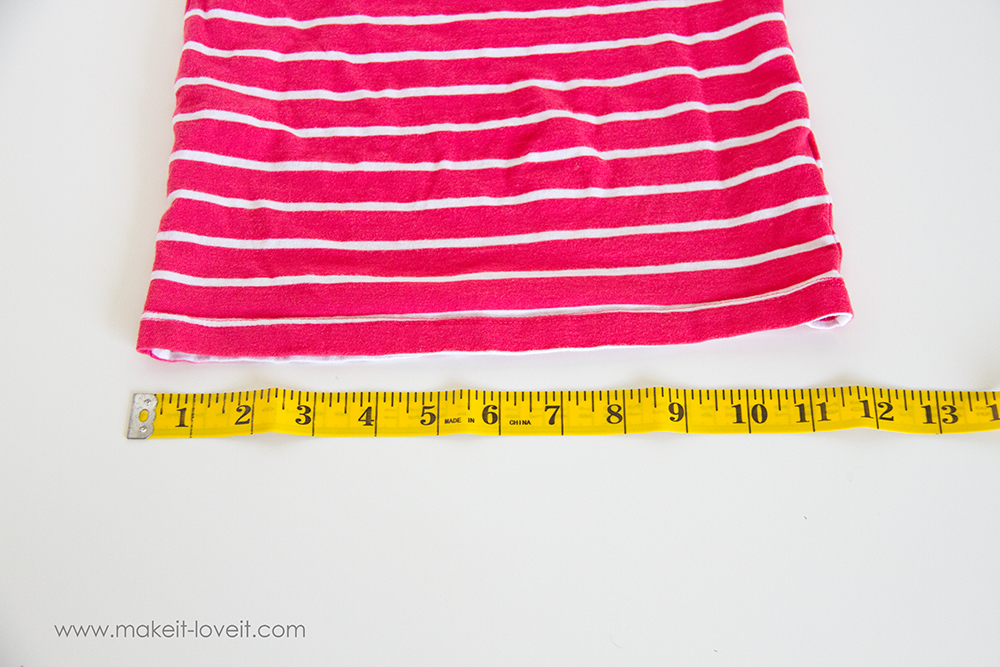 Add a Waist Sash to Shirts (great for making them longer (2)
