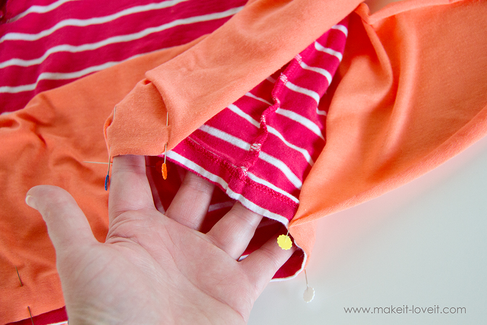 Add a Waist Sash to Shirts (great for making them longer (5)