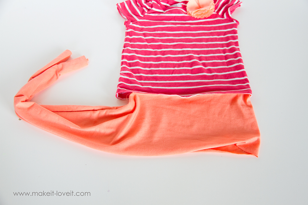 Add a Waist Sash to Shirts (great for making them longer (7)