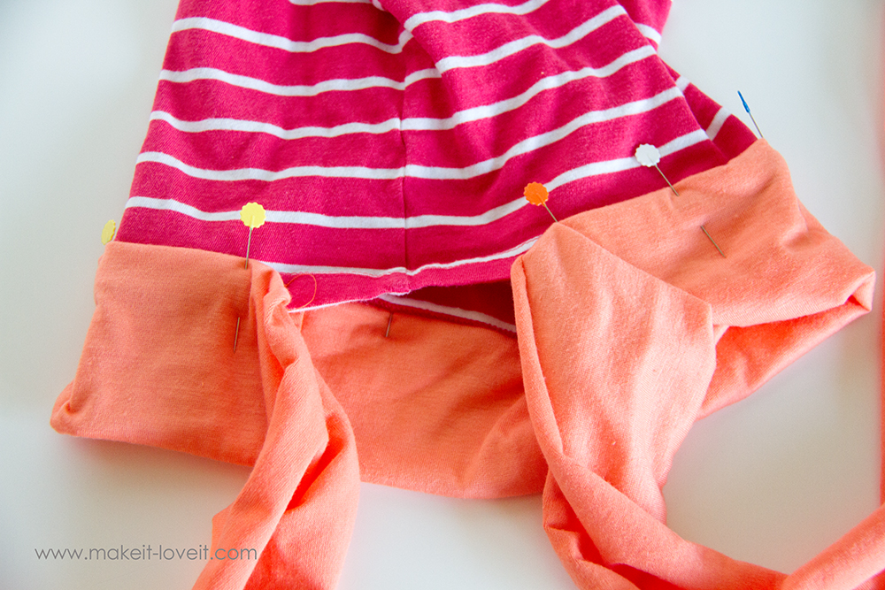 Add a Waist Sash to Shirts (great for making them longer (9)