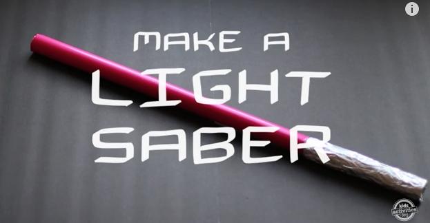 Make a light saber