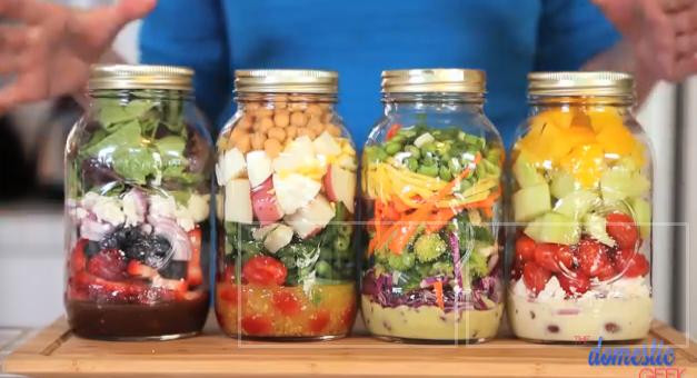 4 salad-in-a-jar recipes