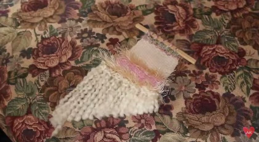 Make your own mini tapestry