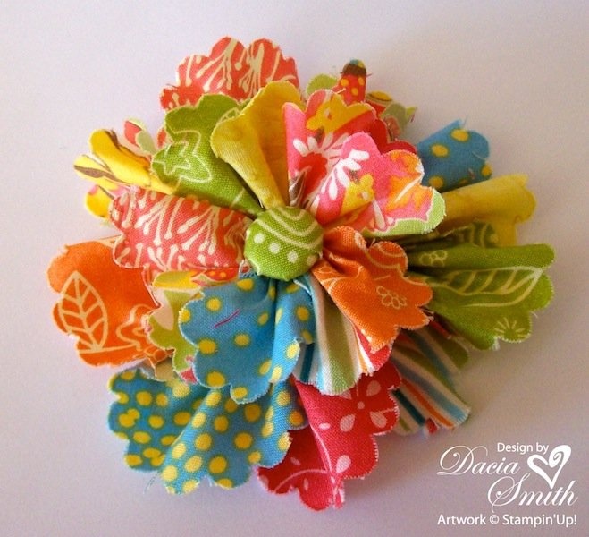 30 diy fabric flower tutorials for Waste material flower making