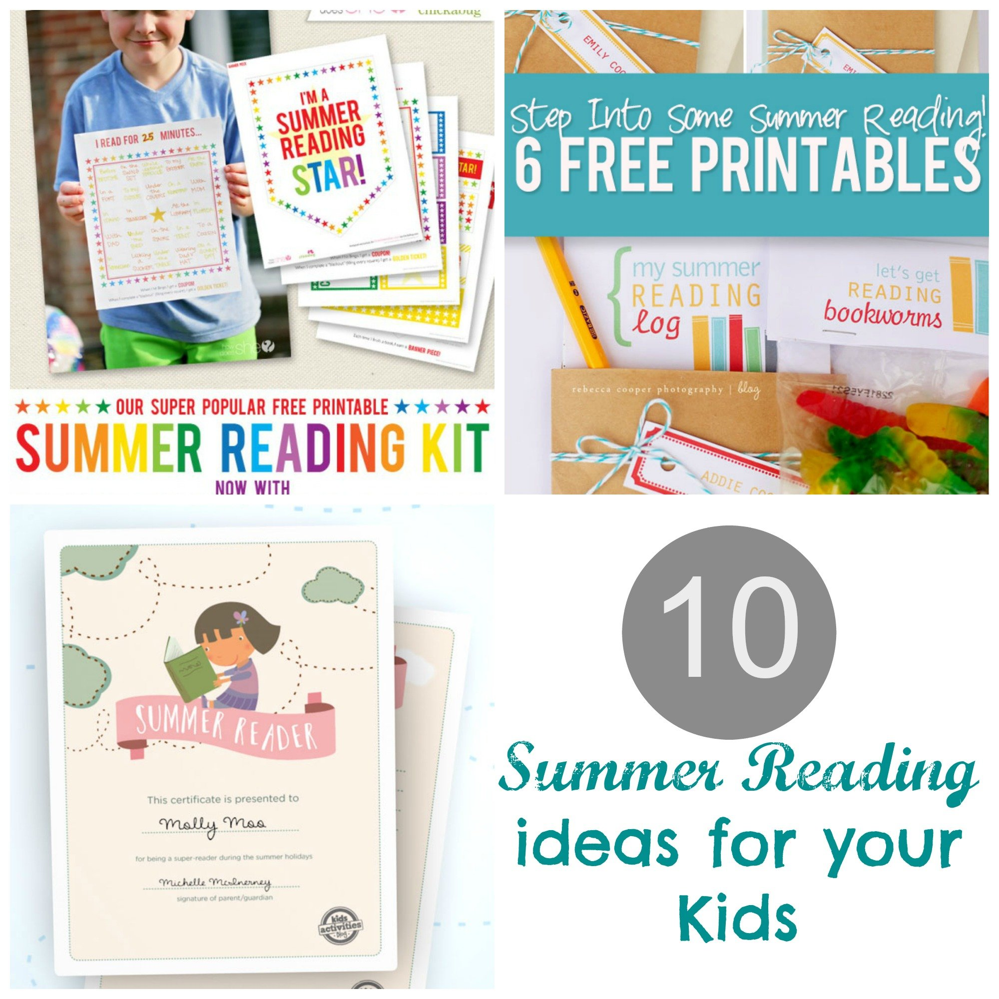 10 summer reading ideas for your kids!