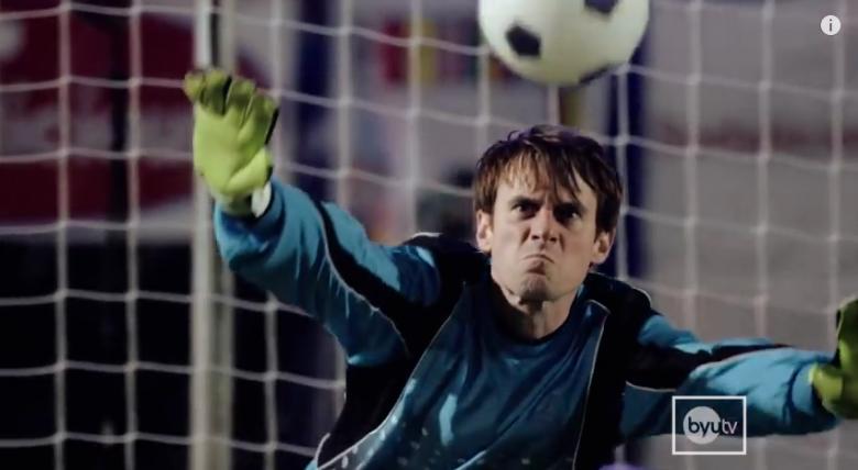 Epic penalty kick