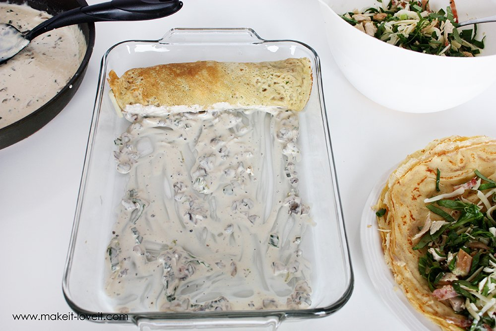 Swiss chicken crepes with spinach (10)