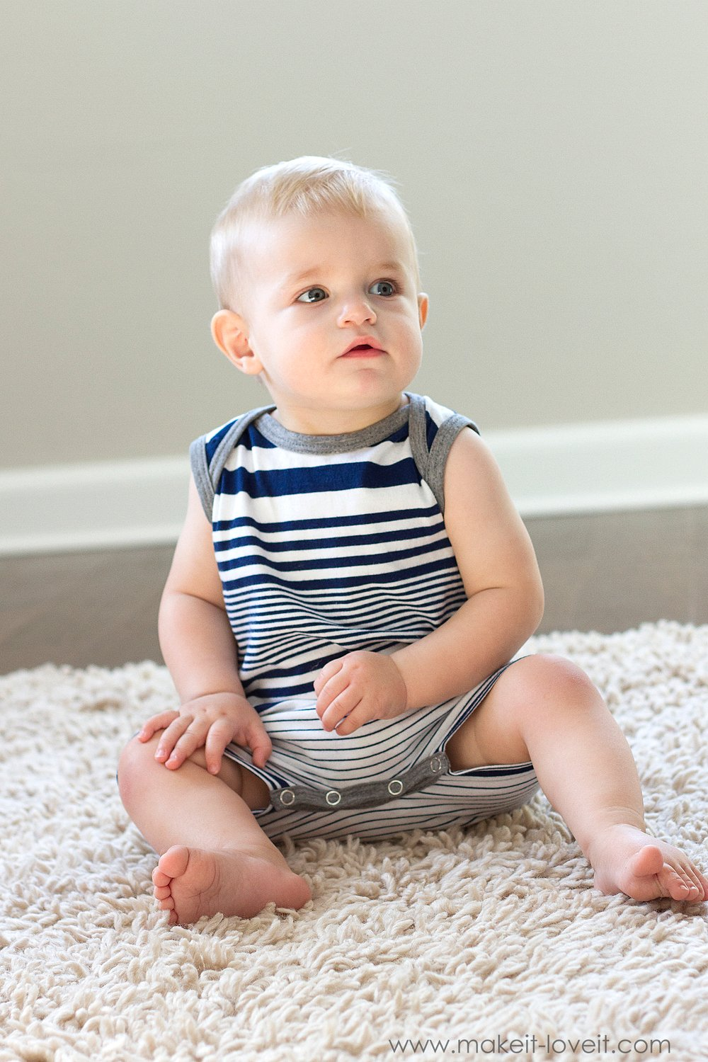DIY: Tank Top Romper with Envelope Neckline (...from an old Tshirt) | via Make It and Love It