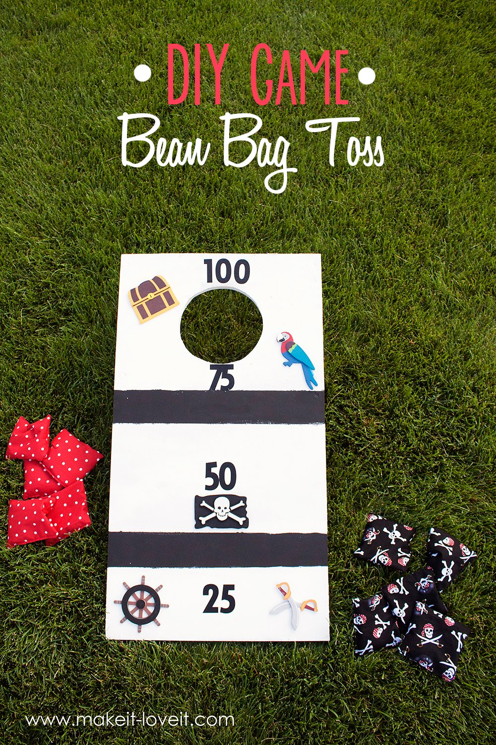 Diy Bean Bag Toss Fun For The Whole Family