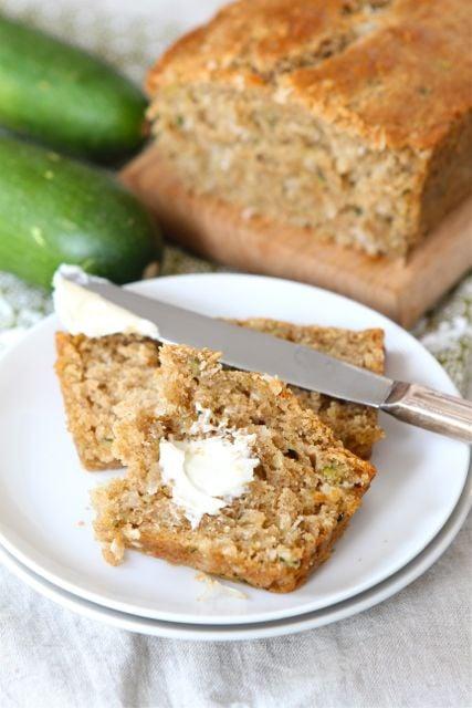 Zucchini-coconut-bread