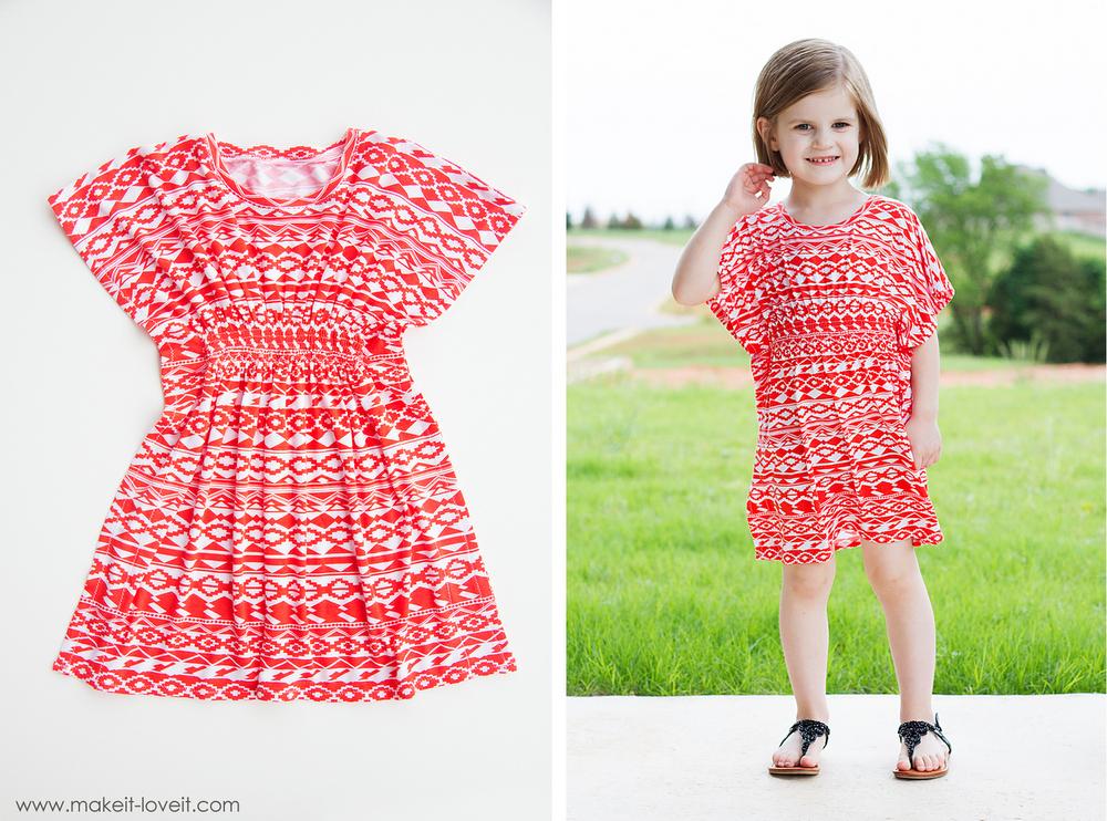butterfly-sleeve-tunic-dress