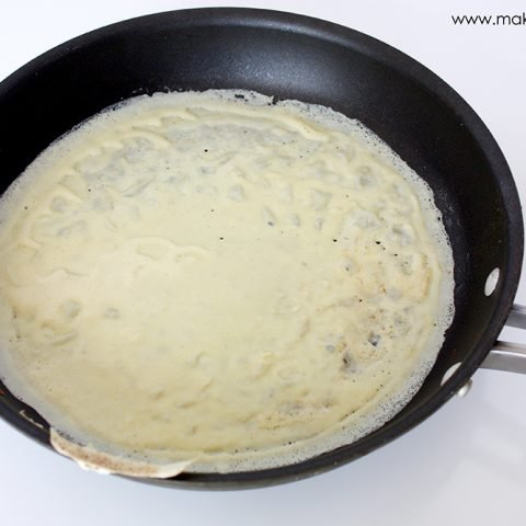 Swiss chicken crepes with spinach (gluten free version included)