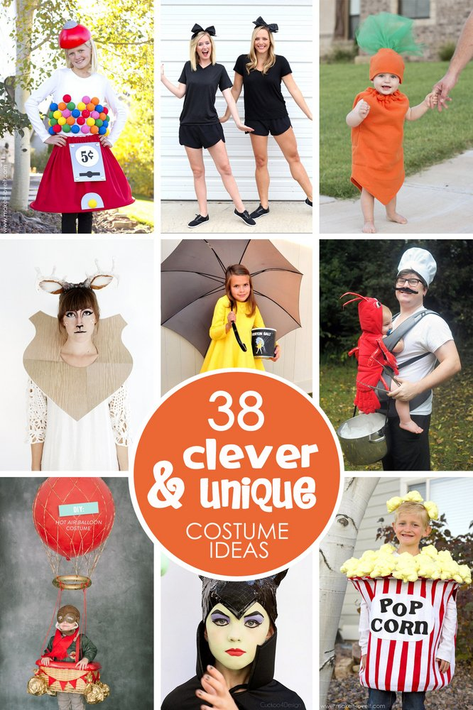 38 of the most clever & unique costume ideas