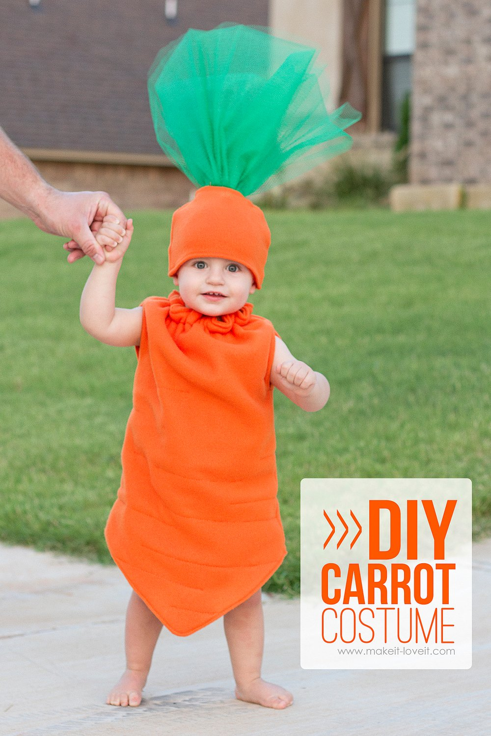 Diy carrot costume — fun for any age! (…plus, one to give away!)