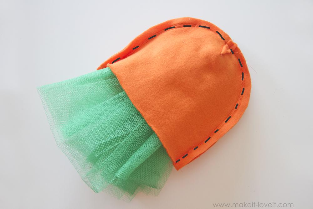 DIY Carrot Costume 13