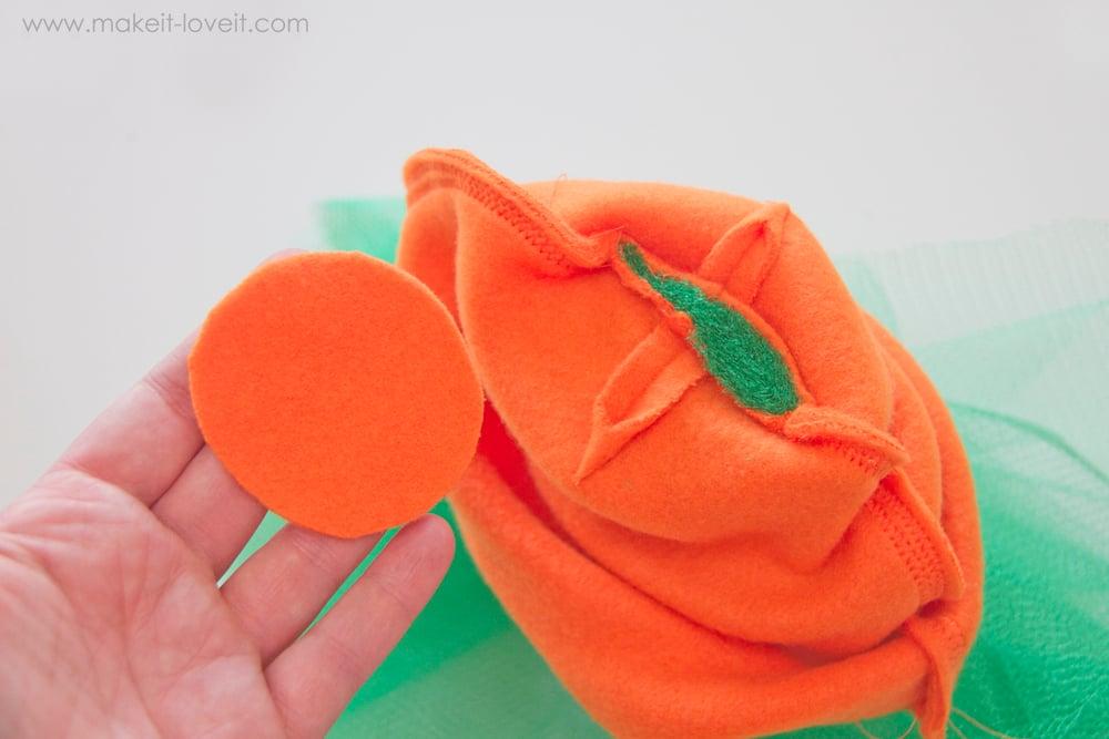 DIY Carrot Costume 15