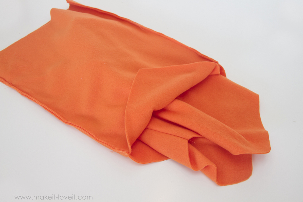 DIY Carrot Costume 18