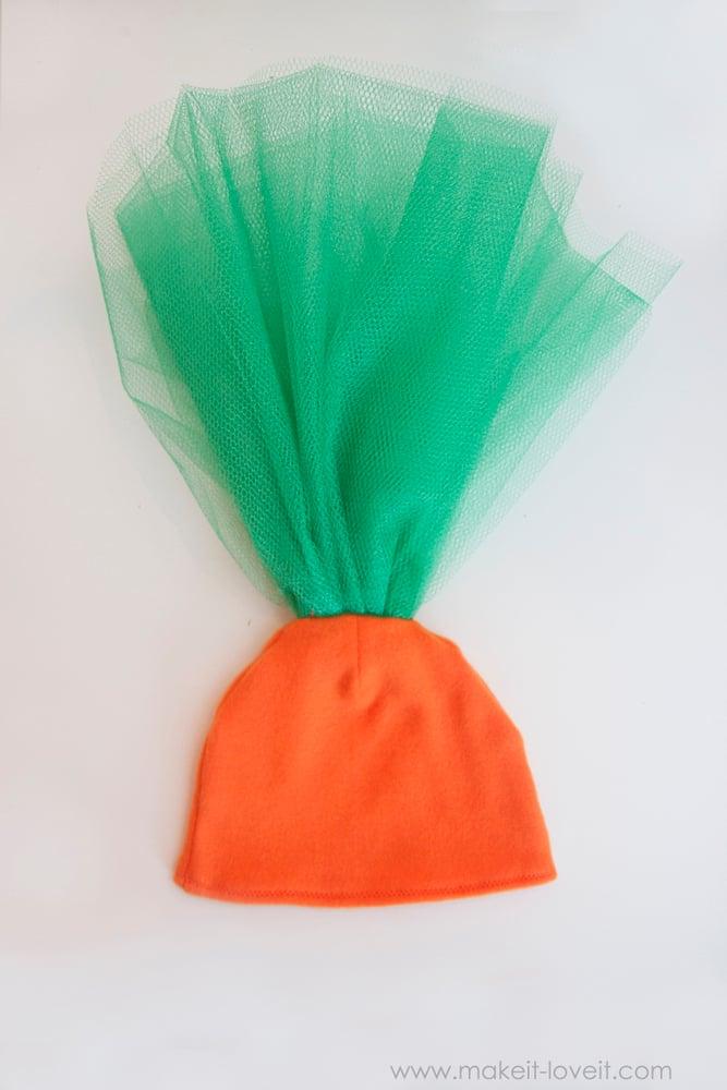DIY Carrot Costume 23
