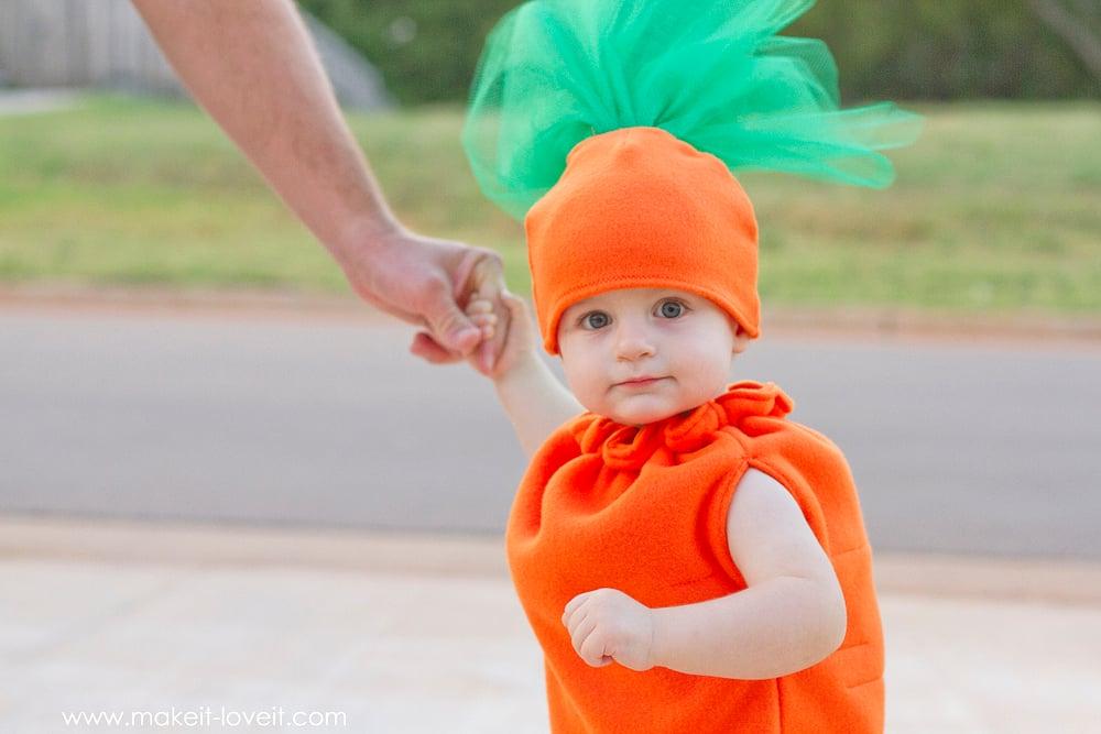 DIY Carrot Costume by Ashley Johnston