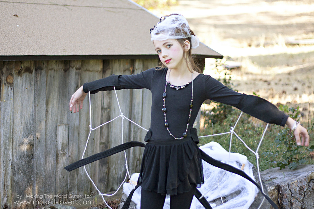 DIY Spider Costume for Tweens/Teens (or any age really!) |  sc 1 st  Makeit-loveit & DIY Spider Costume for Tweens/Teens (or any age really!)