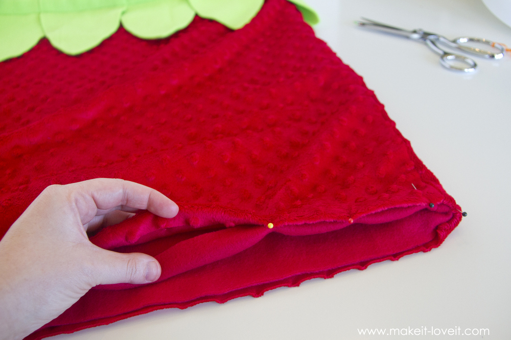 DIY Strawberry Costume 24