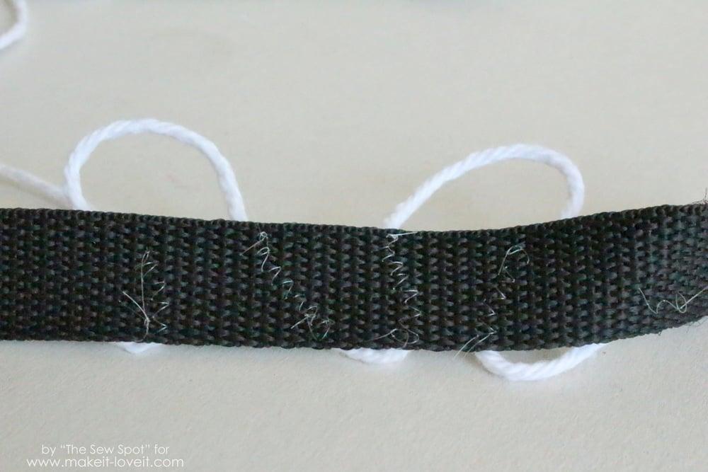 back of shoulder strap