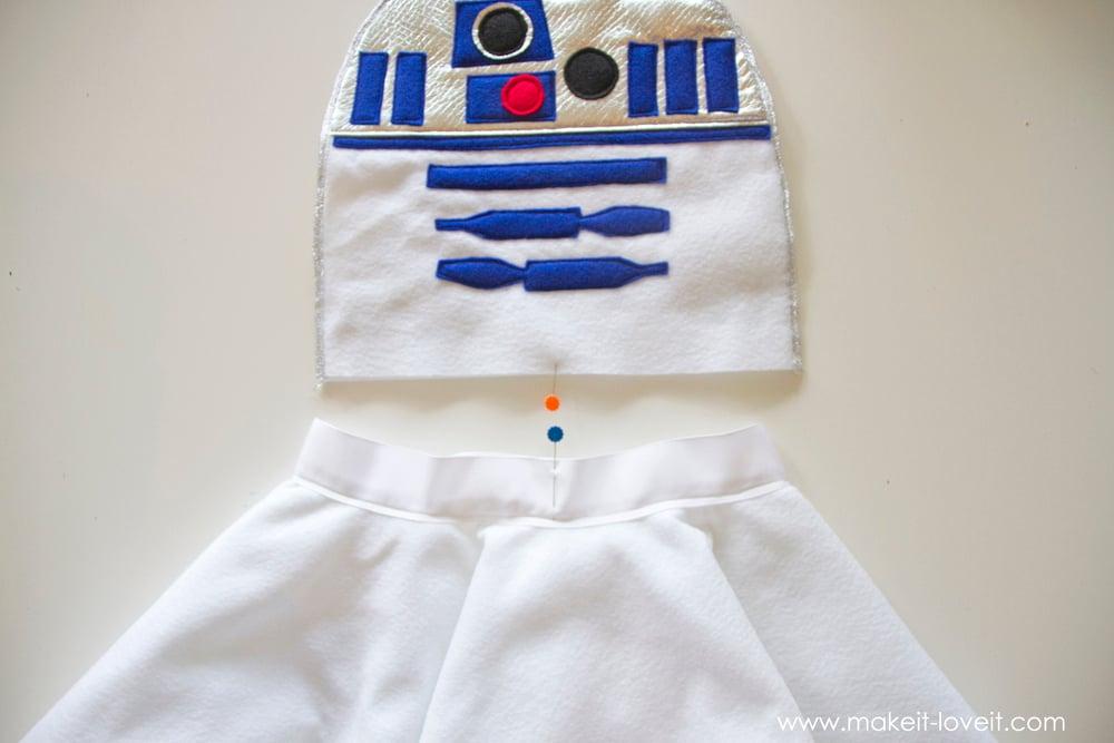 Star Wars R2D2 Dress Costume 13
