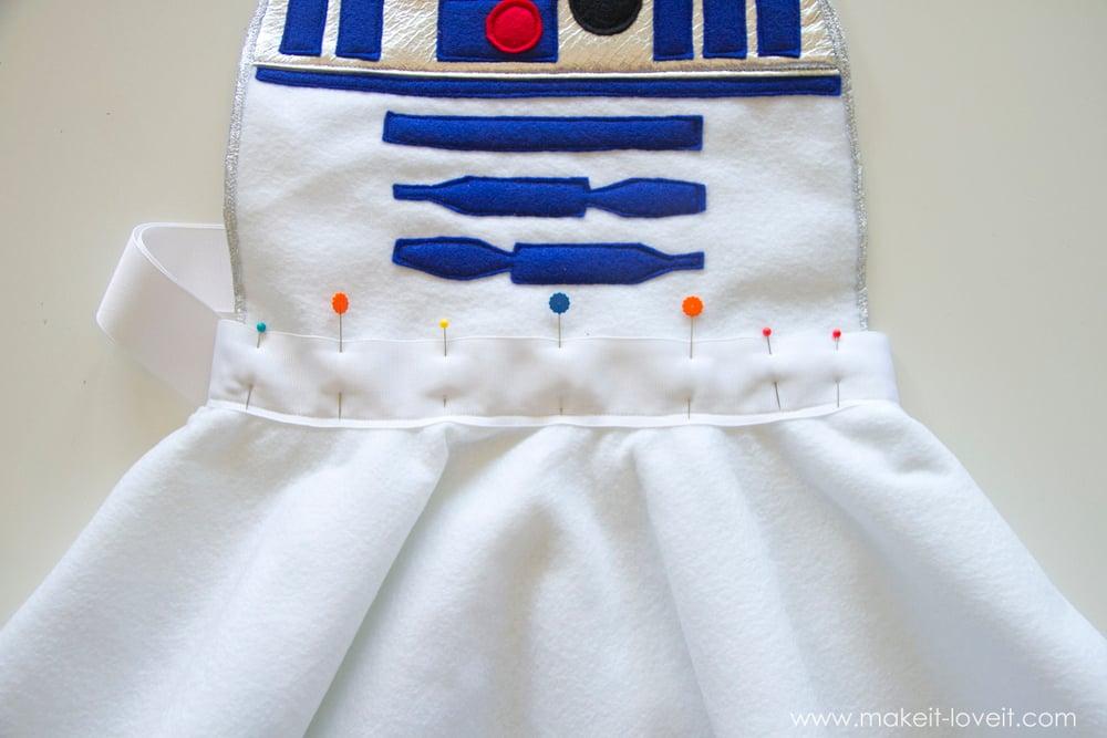 Star Wars R2D2 Dress Costume 15