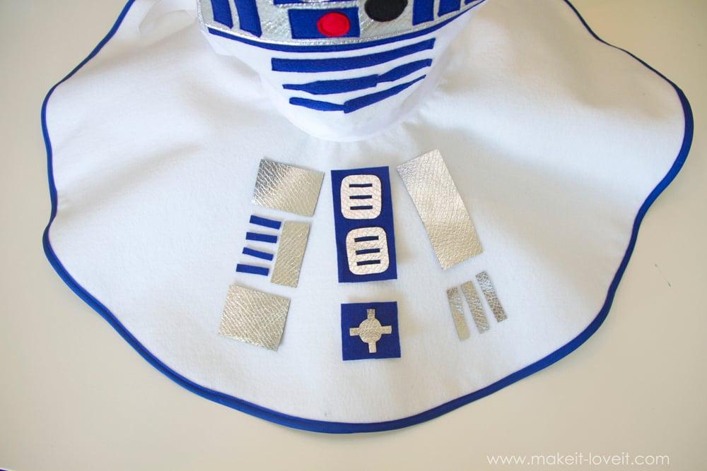 Star Wars R2D2 Dress Costume 20