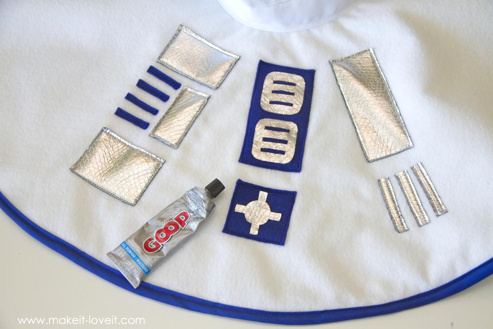 Star Wars R2D2 Dress Costume 21