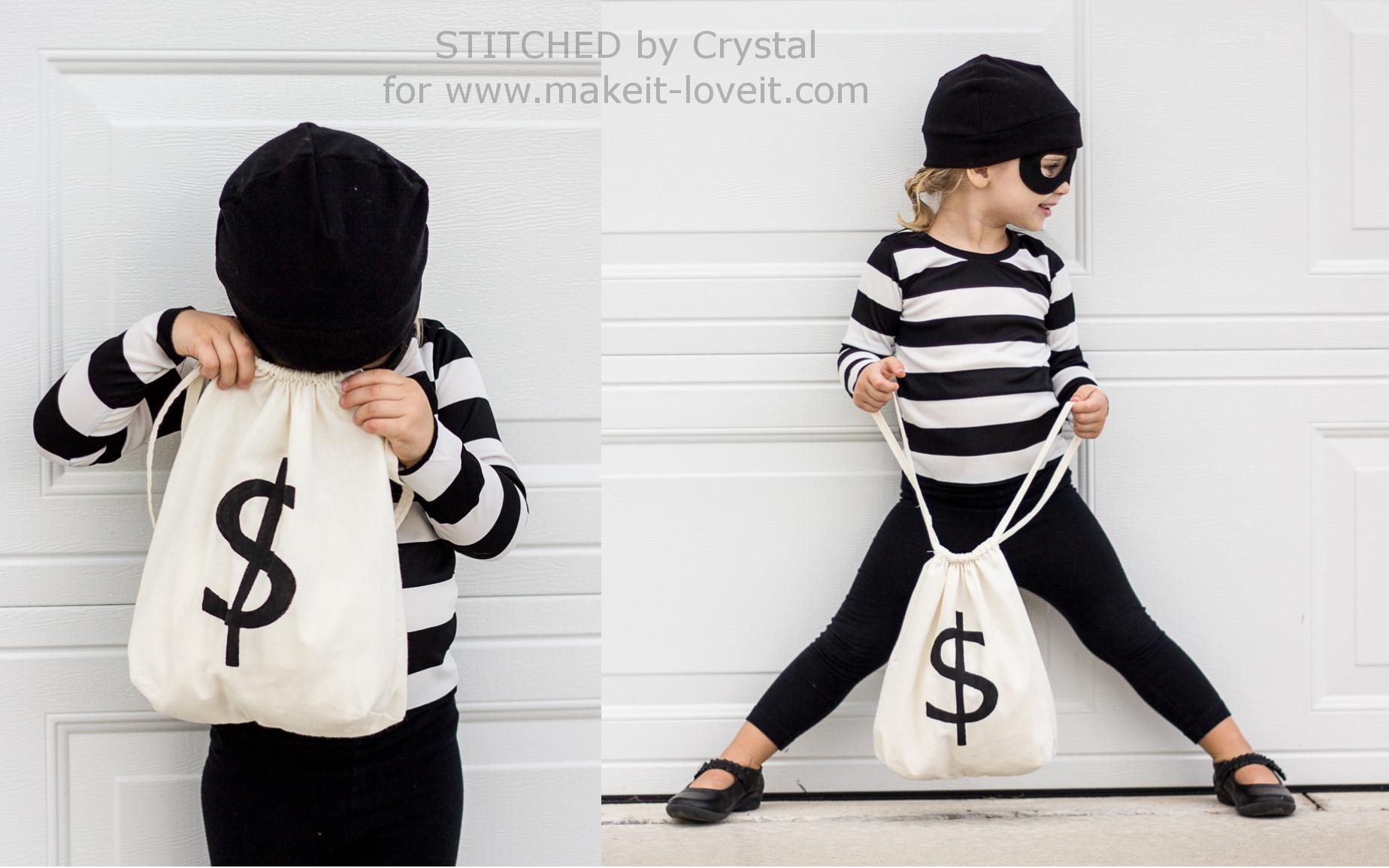 "Last Minute ""Little Bandit"" Costume |via Make It and Love It"