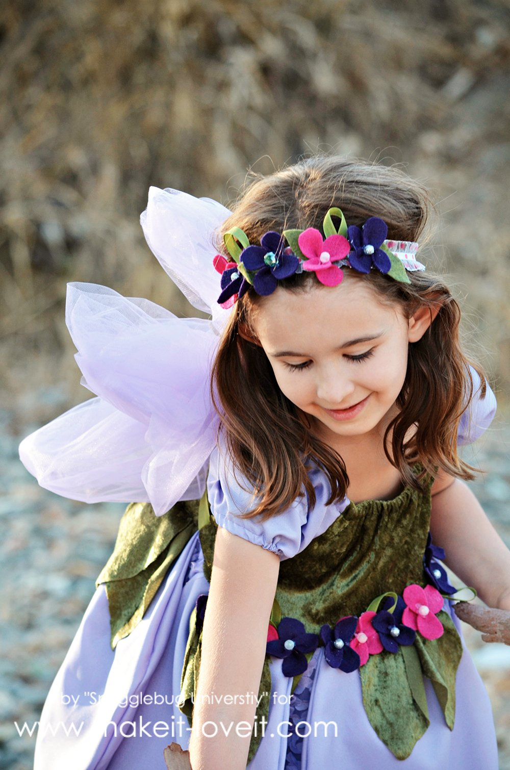 Diy woodland fairy costume make it and love it diy woodland fairy costume learn how to make your own fairy dress fairy slippers solutioingenieria Image collections